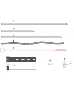 BOFA A1090025. Kit Absaugröhrchen und Halterung