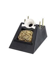Ersa 0A52. Ablageständer für i-Tool mit Trockenreiniger aus Metallwolle