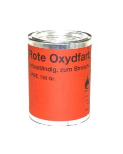 Ersa 4HMFARBE. Oxidfarbe für Löt-Tiegel, rot, 750g
