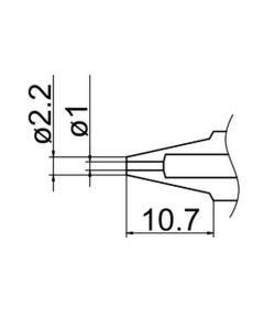 Hakko N3-10. Soldering tip Nozzle Size Φ1.0
