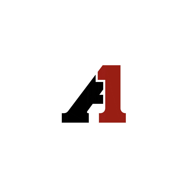 ALSIDENT 4-125-13-4. Flansch 125 mm für Kabinett, rot